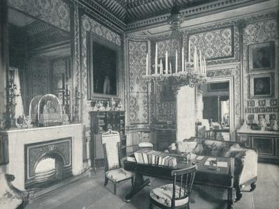 The Prince Consorts Writing Room at Buckingham Palace, c1899, (1901)