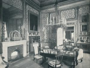 The Prince Consorts Writing Room at Buckingham Palace, c1899, (1901) by HN King
