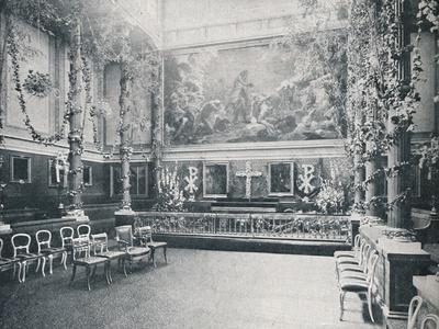 The Private Chapel of Buckingham Palace, c1910 (1911)