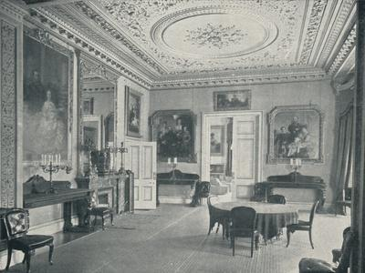 The Queens Dining Room at Osborne House, c1899, (1901)