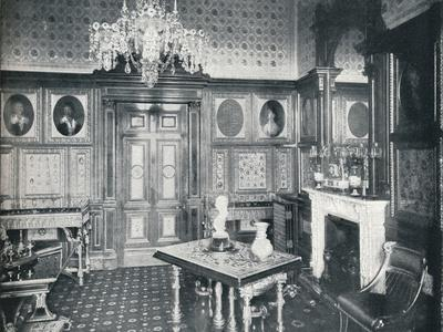 The Queens Private Audience Chamber at Windsor Castle, c1899, (1901)
