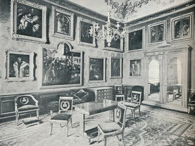 The State Dressing Room at Windsor Castle, c1899, (1901)