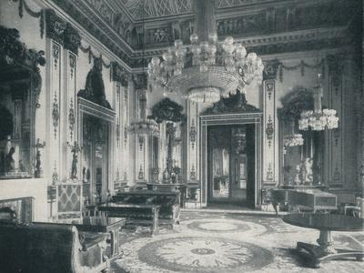 The White Drawing-Room at Buckingham Palace, c1899, (1901)