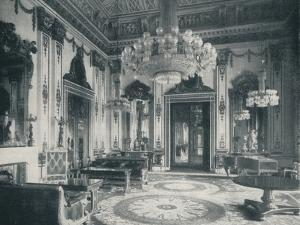 The White Drawing-Room at Buckingham Palace, c1899, (1901) by HN King