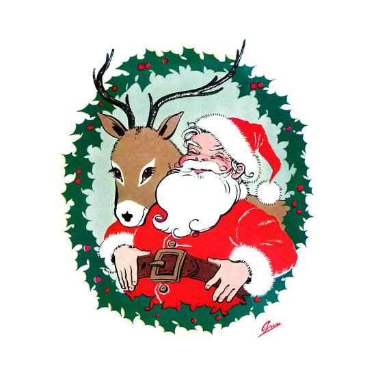 Ho Ho Ho! - Jack & Jill-Ann Eshner-Giclee Print
