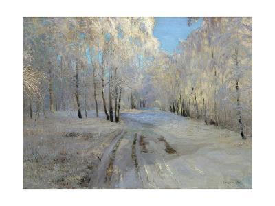 Hoarfrost, 1900-Vasili Nikolayevich Baksheev-Giclee Print