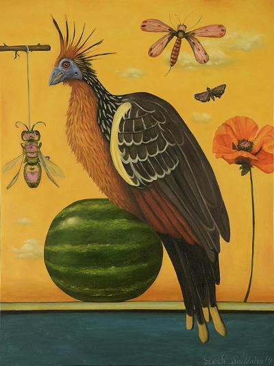 Hoatzin 2-Leah Saulnier-Giclee Print