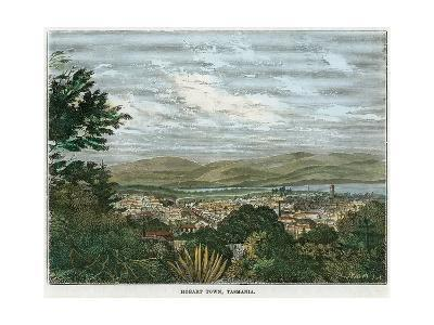 Hobart Town, Tasmania, Australia, C1880--Giclee Print