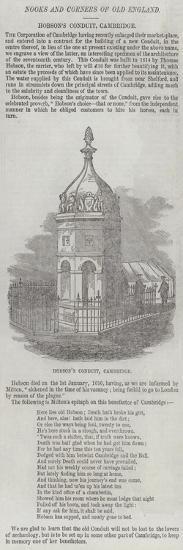 Hobson's Conduit, Cambridge--Giclee Print