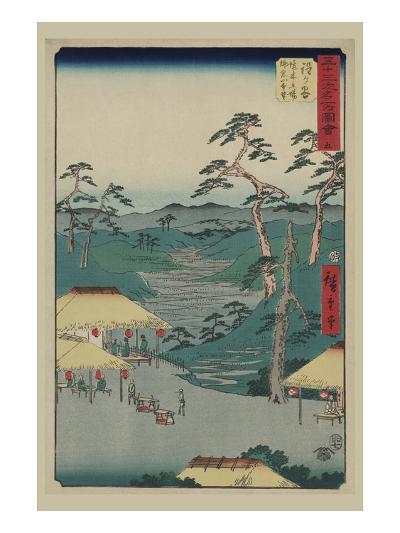 Hodogaya-Ando Hiroshige-Art Print