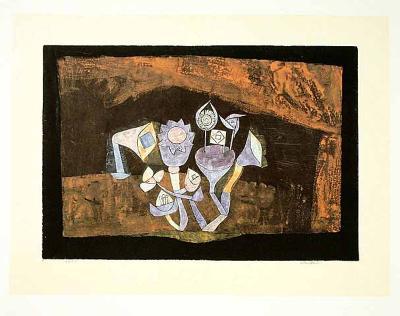 Höhlenblüten, c.1926-Paul Klee-Collectable Print
