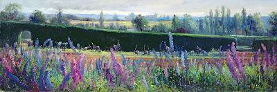 Hoeing Against the Hedge-Timothy Easton-Giclee Print