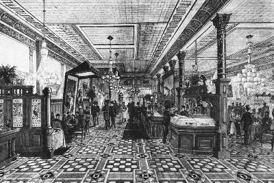 Hoffman Bar Room by F.G. De Fontain--Photographic Print