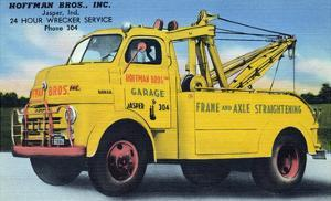 Hoffman Brothers Inc. 24 Hour Wrecker Service