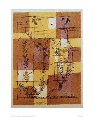 Hoffmanesque Scene-Paul Klee-Giclee Print
