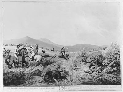 Hog Hunters Meeting-Samuel Howett-Giclee Print