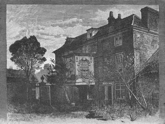 'Hogarth's House, Chiswick', 1890-Unknown-Giclee Print