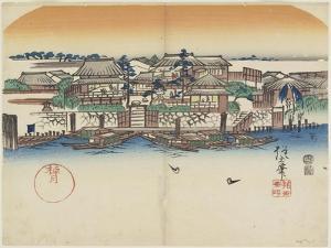 Boating Inn, 1841 by Hogyoku