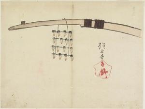 Drying Shellfish, C. 1830 by Hogyoku