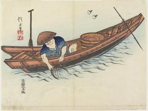 Fisherman, 1832 by Hogyoku
