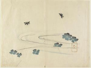 Insects Flying over Water, C. 1830 by Hogyoku