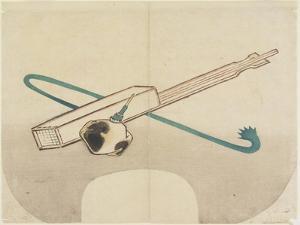 Jelly-Noodle Maker, C. 1830 by Hogyoku