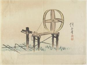 Spinning Wheel, C. 1830 by Hogyoku