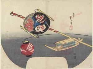 Toy Boat, 1832 by Hogyoku