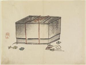Wicker Storage Box, C. 1830 by Hogyoku