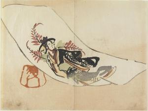 Wisteria Maiden, C. 1830 by Hogyoku