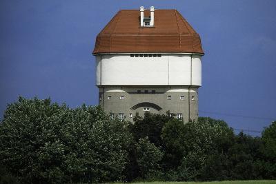 Hohenbudberg Water Tower, Duisburg-Rheinhausen, Baden-Wuerttemberg, Germany--Photographic Print