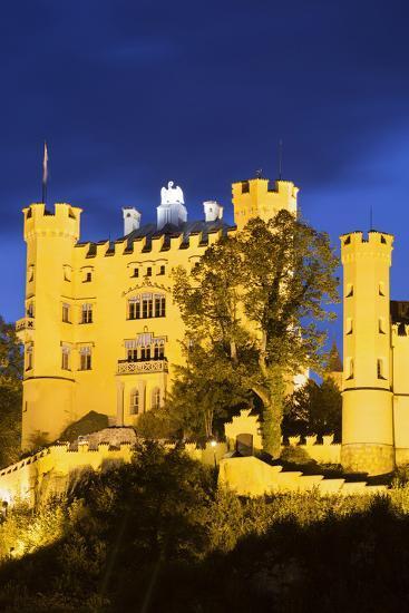 Hohenschwangau Castle, F?ssen, Allg?u, Upper Bavaria, Bavaria, Germany-Rainer Mirau-Photographic Print