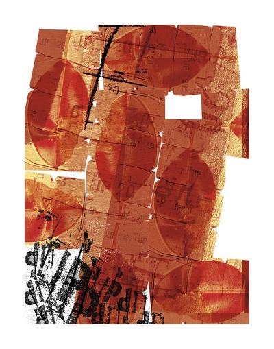 Hojas Rojas-Carolina Pecora-Art Print