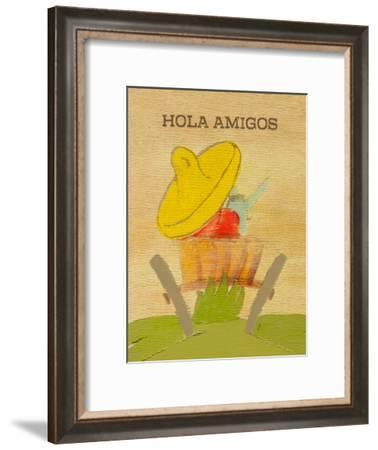 Hola Amigos-Lisa Weedn-Framed Giclee Print