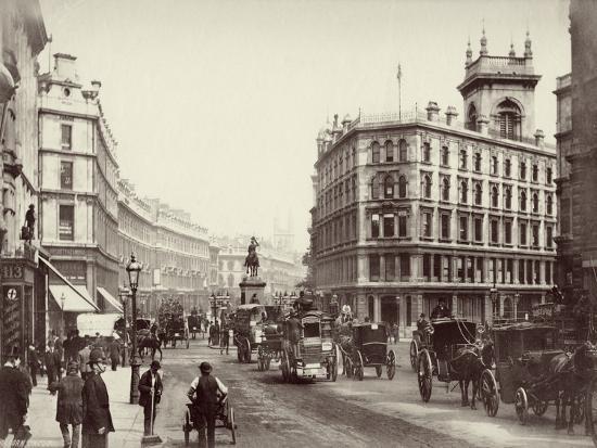 Holborn, London, C.1880--Photographic Print