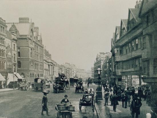 Holborn, London--Photographic Print