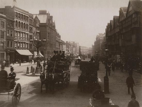 Holborn, London-Francis G. O. Stuart-Photographic Print