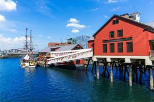Boston Tea Party in Massachusetts USA by holbox