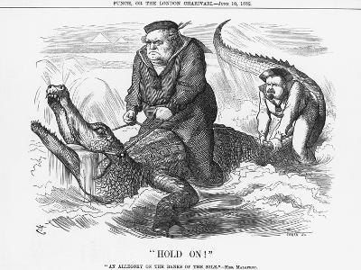 Hold On!, 1882-Joseph Swain-Giclee Print