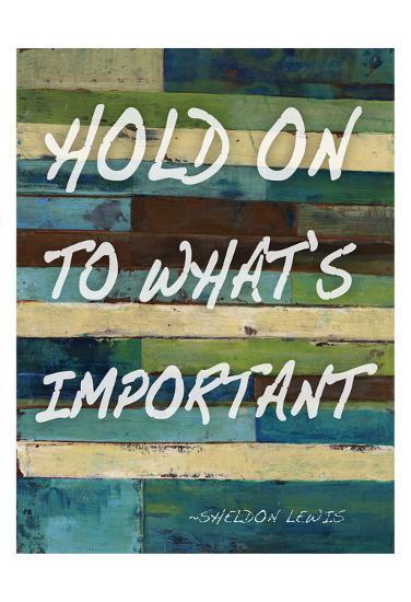 Hold On-Smith Haynes-Art Print