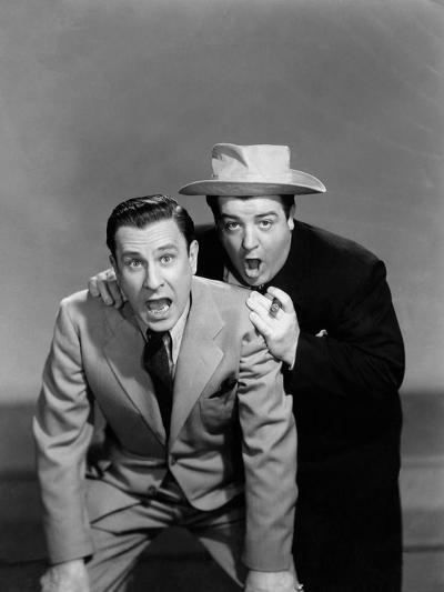 Hold That Ghost, Bud Abbott, Lou Costello, 1941--Photo