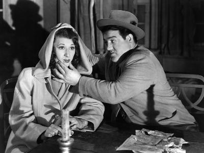 Hold That Ghost, Joan Davis, Lou Costello, 1941--Photo