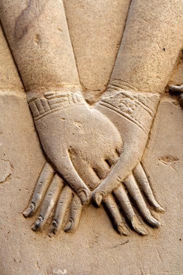 Holding Hands-Joe & Clair Carnegie / Libyan Soup-Photographic Print