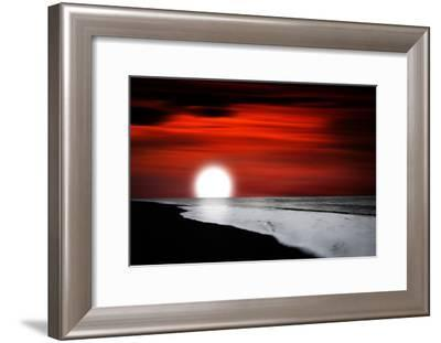 Holding Up-Philippe Sainte-Laudy-Framed Photographic Print