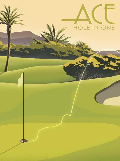 Hole in One--Giclee Print