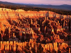 Bryce Canyon at Dawn, Seen from Bryce Point by Holger Leue