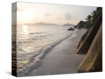 Coastline at Sunset, La Digue Island