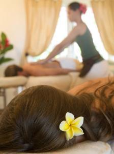 Couples' Massage at Hanoa Spa, Hotel Hana-Maui, Hawaii by Holger Leue