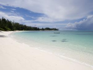 Denis Island Beach by Holger Leue
