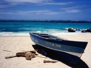 Fishing Boat, Sam Lord's Beach, St Philip by Holger Leue